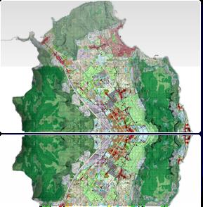 Zonizzazione e vincoli sul territorio adeguati ai D.Dir. 558 e 124\DRU\02 di approvazione Palermo Luglio 2003 - Presa D'atto Del. 7/2004
